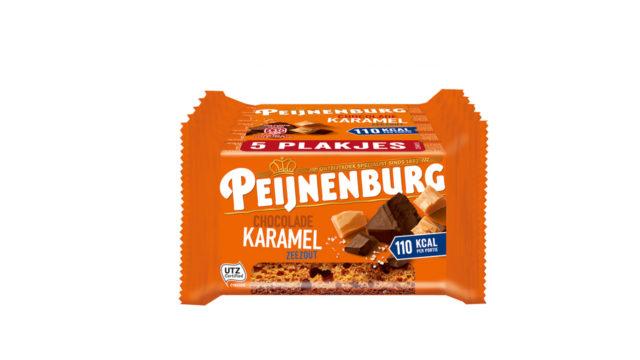Chocolade Karamel Zeezout 5-pack LR T1 Peijnenburg Ontbijtkoek