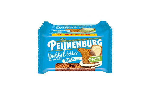 Dubbel Lekker Melk 5-pack LR T1 Peijnenburg Ontbijtkoek