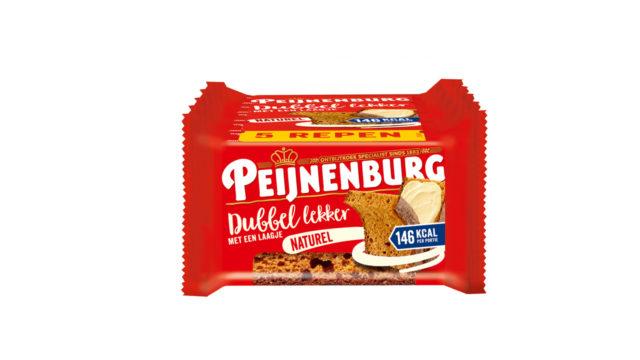 Dubbel Lekker Naturel 5-pack LR T9 Peijnenburg Ontbijtkoek