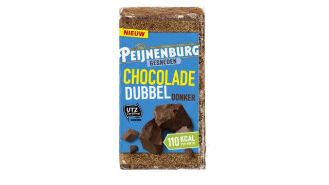 Ontbijtkoek Chocolade Dubbel Donker 320g Gesneden Peperkoek Peijnenburg