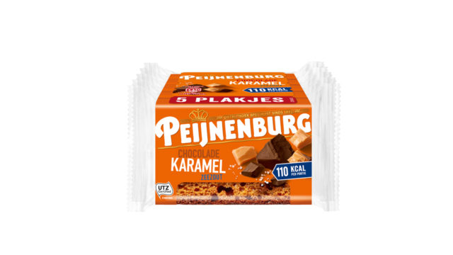 Ontbijtkoek Chocolade Karamel Zeezout 5-pack Peijnenburg Peperkoek los verpakt T