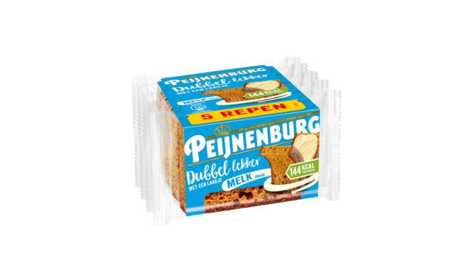 Ontbijtkoek Dubbel Lekker Melk 5-pack Peperkoek Peijnenburg