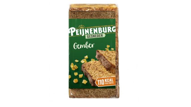 Ontbijtkoek Gember gesneden 320g Peijnenburg Peperkoek luxe