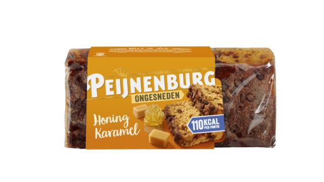 Ontbijtkoek Honing Karamel Ongesneden 465g Peijnenburg peperkoek