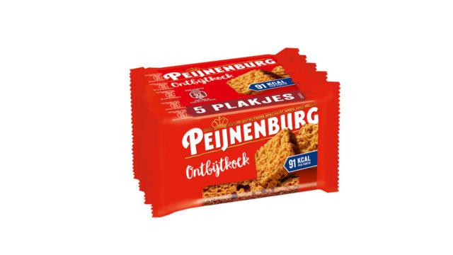Ontbijtkoek Meeneem Tussendoortje Naturel 5-pack LR T1 Peijnenburg Ontbijtkoek