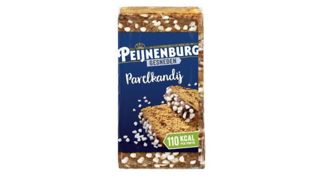 Ontbijtkoek Parelkandij gesneden 320g Peijnenburg Peperkoek luxe