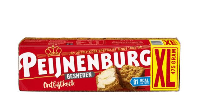 Ontbijtkoek Peperkoek Naturel Normale Gewone Gesneden Peijnenburg 475g