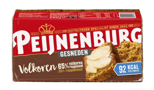 Ontbijtkoek Peperkoek Peijnenburg Volkoren Gesneden 280g