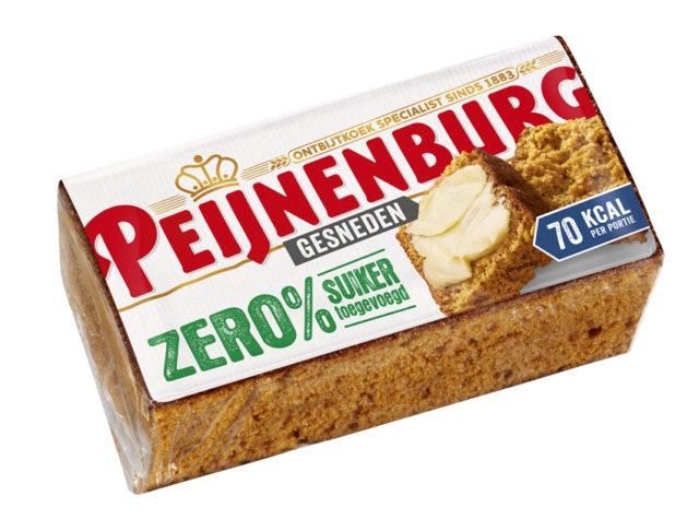 Ontbijtkoek Peperkoek Peijnenburg Zero Gesneden 280g