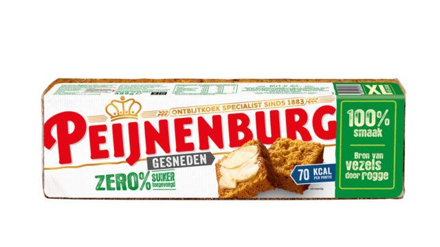 Ontbijtkoek Peperkoek Peijnenburg Zero Gesneden 485g