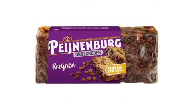 Ontbijtkoek rozijnen 465g ongesneden peperkoek peijnenburg luxe