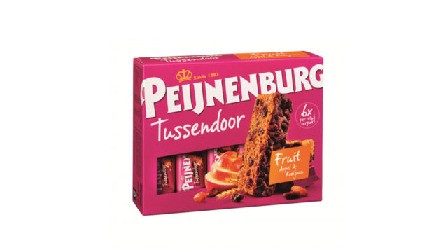 Ontbijtkoek Tussendoor Fruit 6 stuks Peijnenburg peperkoek appel rozijn kaneel