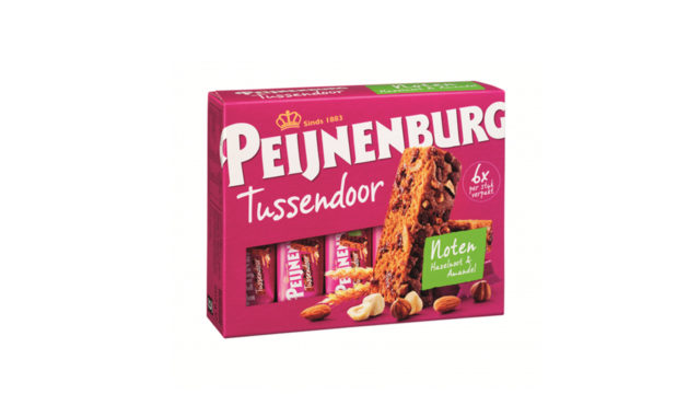 Ontbijtkoek tussendoor noten 6 stuks peperkoek peijnenburg