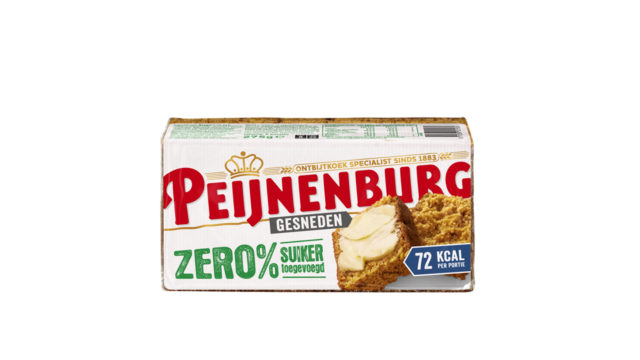 Ontbijtkoek Zero 275g Gesneden Peijnenburg Geen Suikers Xylitol