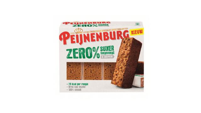 Ontbijtkoek Zero Tussendoor 6stuks los verpakt geen suikers xylitol