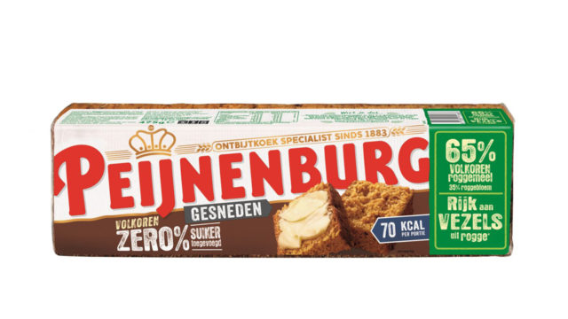 Ontbijtkoek Zero Volkoren Gesneden 475g geen suikers xylitol