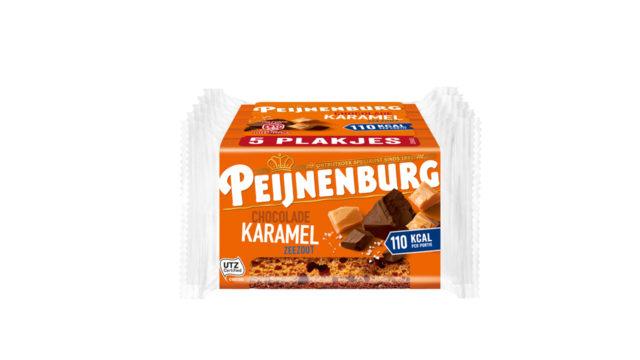 Peijnenburg Chocolade Karamel Zeezout meeneemverpakking 5-pack