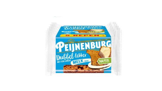 Peijnenburg Dubbel Lekker Melk ontbijtkoek meeneemverpakking 5-pack