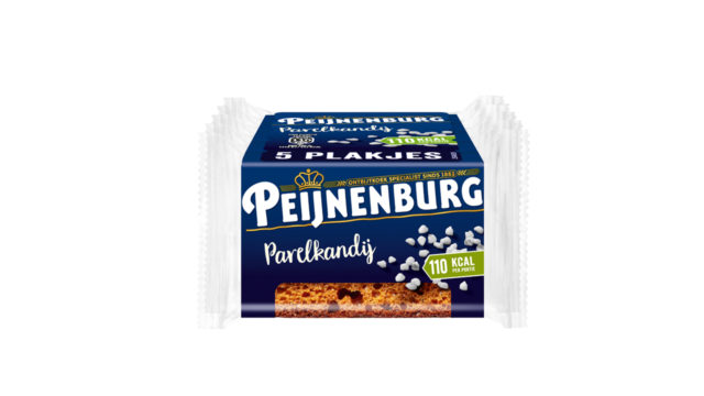 Peijnenburg Parelkandij ontbijtkoek meeneemverpakking 5-pack