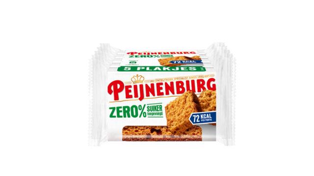Peijnenburg zero ontbijtkoek meeneemverpakking 5-pack