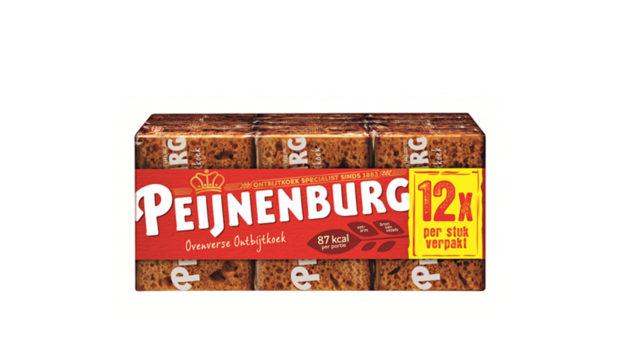 Portieverpakking Naturel Peijnenburg Ontbijtkoek Peperkoek 12 plakjes