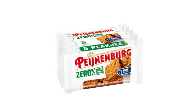 Zero 5-pack LR T1 Tussendoortje Lekker gezond geen suiker Peijnenburg Ontbijtkoek